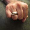 Hand-stitched Baseball Ring