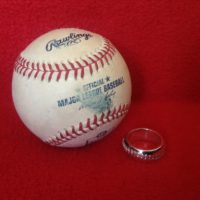 Hand-stitched Baseball Ring